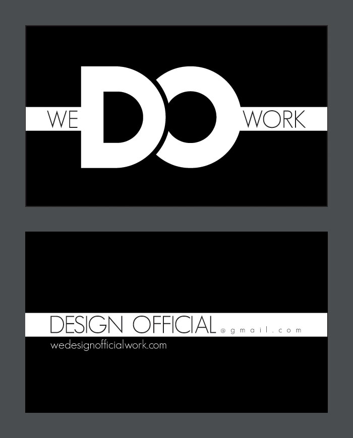 Design Official Business Card