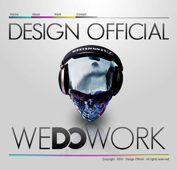 Design Official Website Design