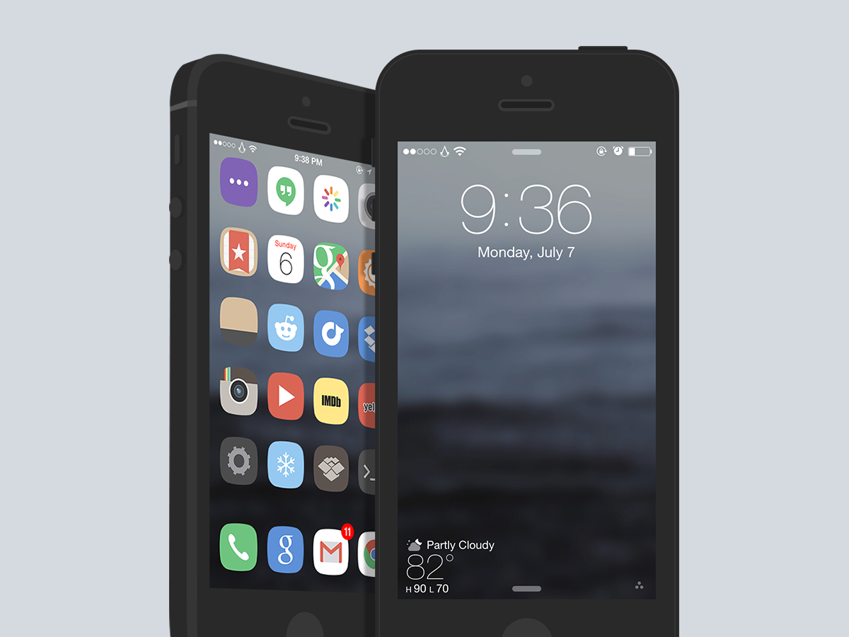 minimal.iOS.7 Preview
